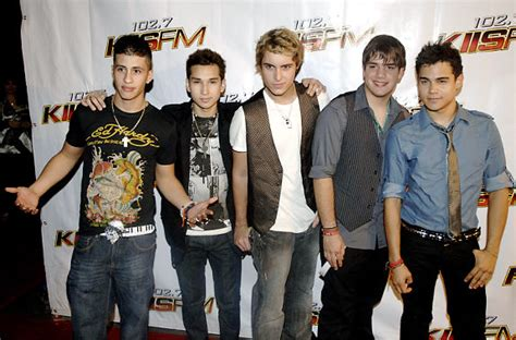 Menudo Reforming For Mtv Reality Series by Oliver Nick The Band Menudo Poses At The