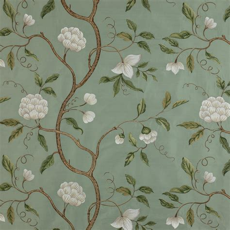 colefax and fowler upholstery fabrics buy snow tree silk aqua fabrics from colefax fowler