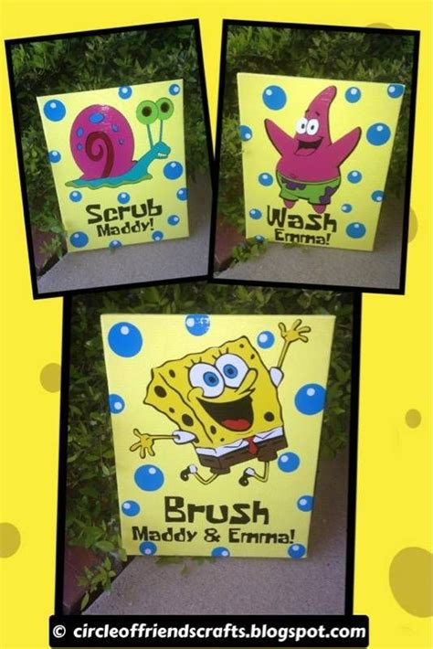 spongebob bathroom decor 34 best images about bathroom laundry room ideas on