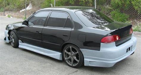 02 Toyota Corolla Toyota Corolla 98 99 00 01 02 Blitz Rear Bumper Kit