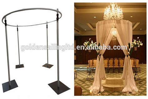 curved pipe and drape round roof tent curved pipe and drape kits for wedding