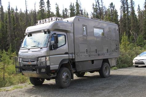 mitsubishi fuso 4x4 expedition vehicle 17 best images about expedition cers on pinterest