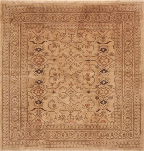 Large Square Area Rugs Ardebil Brown Square 9 Ft And Larger Wool Carpet 11798
