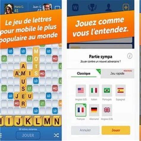 Jeux De Lettre Mobile T 233 L 233 Charger Mots Entre Amis Ios App Store