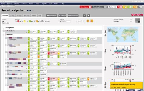 Review Prtg Network Monitor With New Ui Itsmdaily Com Prtg Map Templates