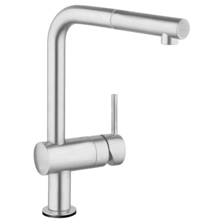 grohe 30218dc1 supersteel minta pull out spray kitchen