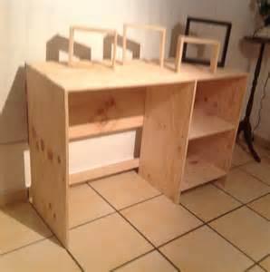 Diy Desk With Shelves by Diy Desk Shelves Diy Diy Diy