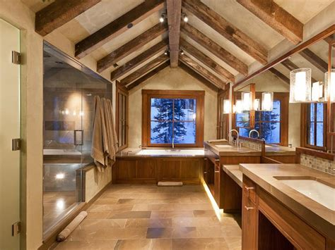 Decorating Ideas For Master Bathrooms by Enticing Modern Mountain Design In Colorado 9