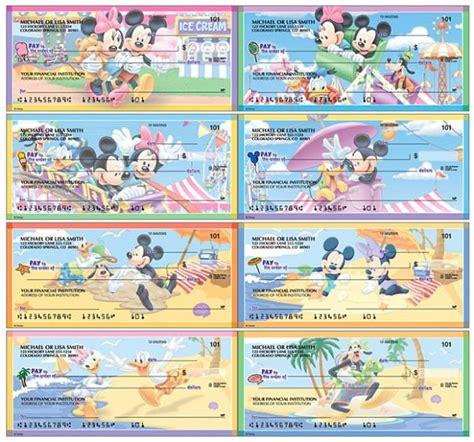 Disney Background Check Disney Mickey And Minnie Mouse Checks Best Personal Checks Getcheckscheap