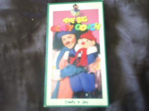big comfy couch comfy and joy opening to the big comfy couch comfy and joy 1993 vhs at