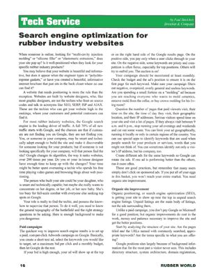 Search Engine Optimization Articles by Paul Streicker Writes Feature On Search Engine