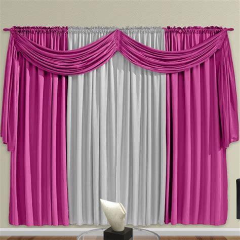 cortinas rosas cortina rosa para sala modernas e cetim decora 231 227 o