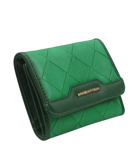 pattern wallet 9881 wholesale women tri fold diamond pattern wallet