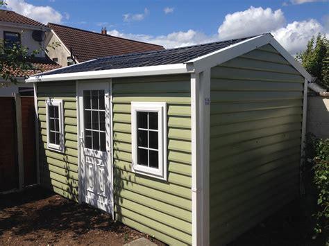 aspen shiplap garden building range  pvc coated