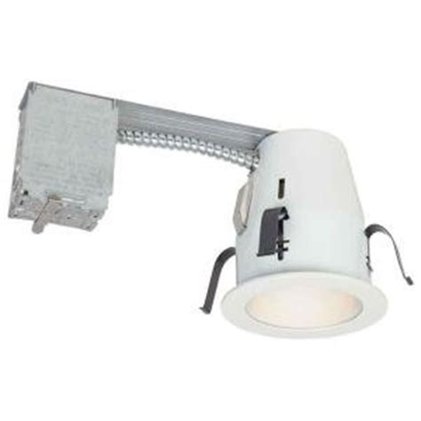 Commercial Electric Recessed Lighting by Commercial Electric 4 In Non Ic Remodel Recessed Lighting