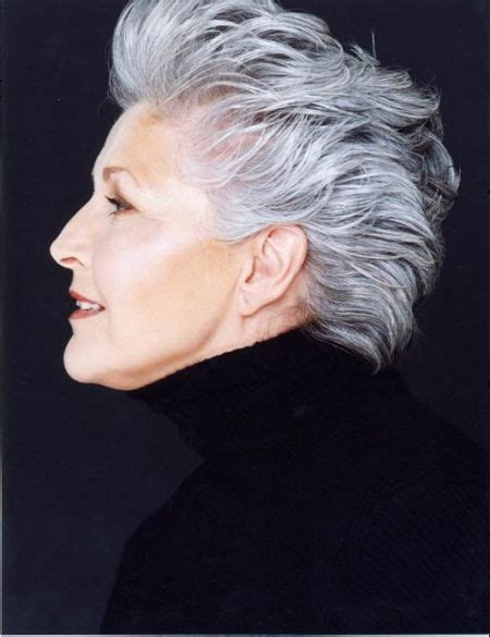 gray hairstyles for 50 plus paulette osborne plus size model silver foxes pinterest