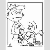 Charlie Brown Christmas Coloring Pages | 680 x 880 gif 28kB
