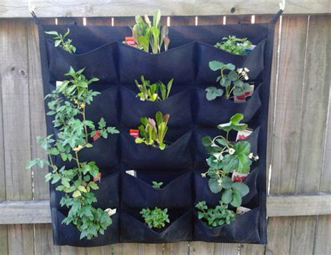 Pocket Planters by Green Vertical Garden Pocket Planters Easy By Fancygarden On Etsy