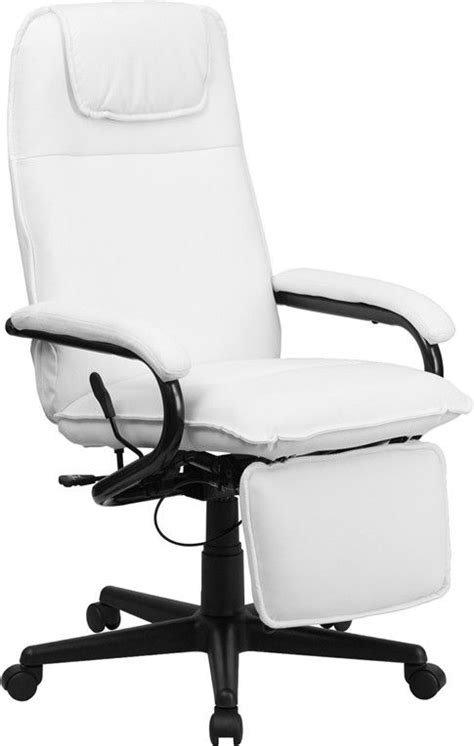 Reclining High Chair From Birth by High Back White Leather Executive Reclining Office Chair