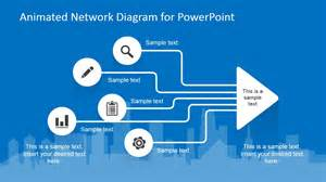 microsoft powerpoint animated templates animated network diagram powerpoint template slidemodel