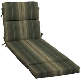 allen roth chaise lounge shop allen roth stripe green stripe cushion for chaise