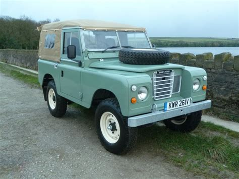 land rover series 3 kwr 261v unique 1979 land rover series 3 rebuilt from