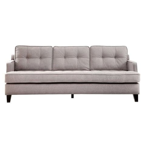 Armen Living Sofa by Armen Living Sofa Cement In Gray Lc21513ce