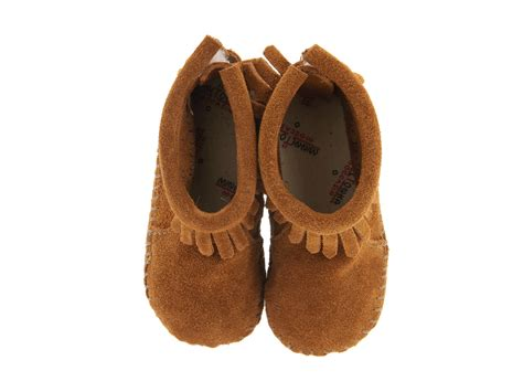 minnetonka toddler slippers minnetonka suede back flap bootie infant toddler at