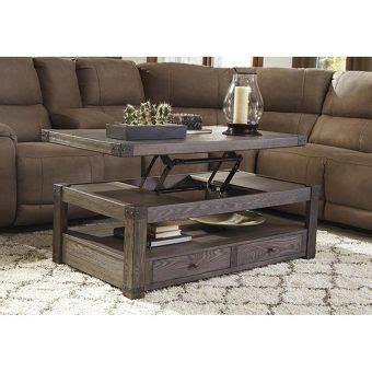 burladen lift top coffee table  grayish brown nebraska