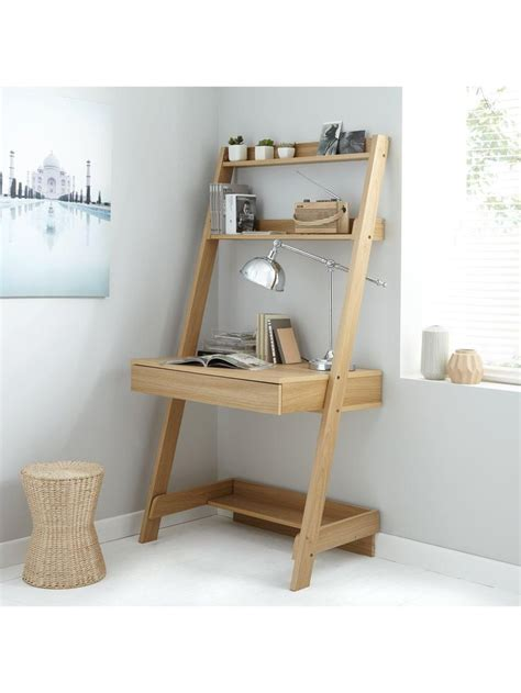ladder desk and shelves the 25 best ideas about leaning shelves on pinterest