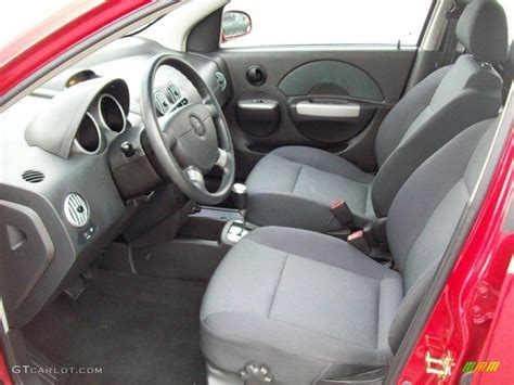 Chevrolet Aveo 2006 Interior charcoal interior 2006 chevrolet aveo lt sedan photo
