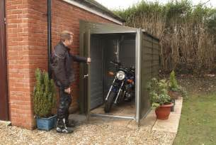 Motorcycle Shed Domestic Storage Garden Bike Shed Faulkner Sheds