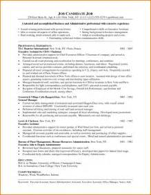 administrative assistant resume key words resume