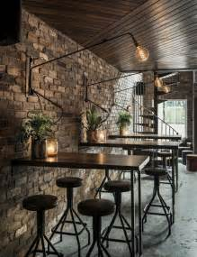 Shop For Chairs Design Ideas Black Chairs And Metal Tables For Cozy Coffee Shop Interior Design Ideas With Wall