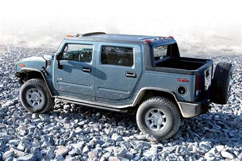hummer h2 sut review 2005 hummer h2 sut review four wheeler magazine