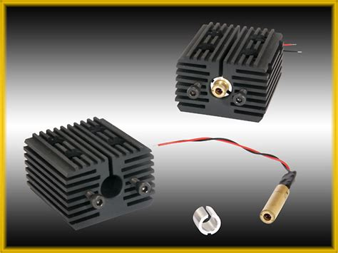 green laser diode heat sink green laser heat sink 8 mm adapter