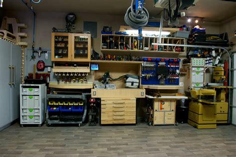 rods garage woodshop  wood whisperer