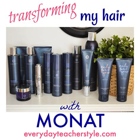 who sells monat hair products transforming my hair with monat everyday teacher style