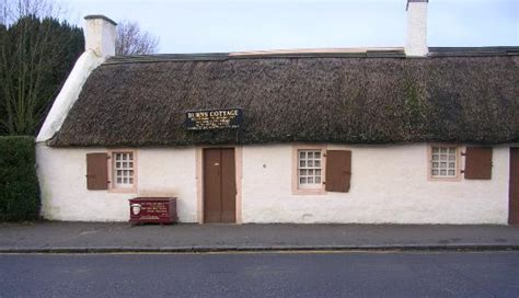 Burns Cottage by Robert Burns Cottage Alloway Ayr Picture Of Robert