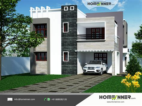 free home designer modern 4 bhk contemporary north indian home design ideas