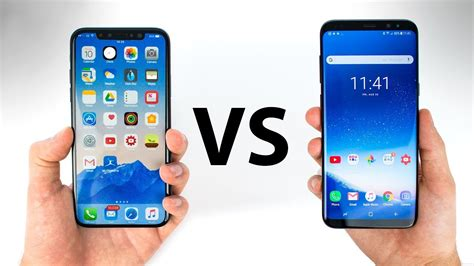 iphone 8 x vs galaxy s8 everything you need to
