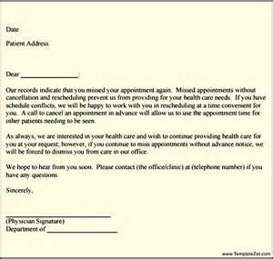 Patient Follow Up Letter Templates Missed Appointment Follow Up Letter Templatezet