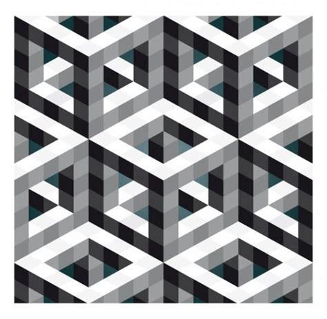 hollow square pattern in c escher m optical illusion art print mc eschers belvedere