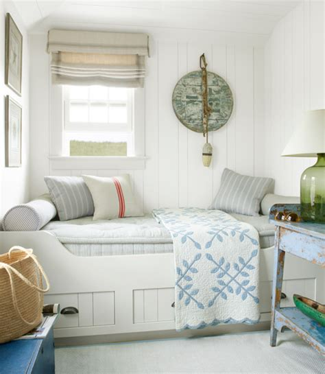 small guest room historic cottage in nantucket renovated by luke thornewill