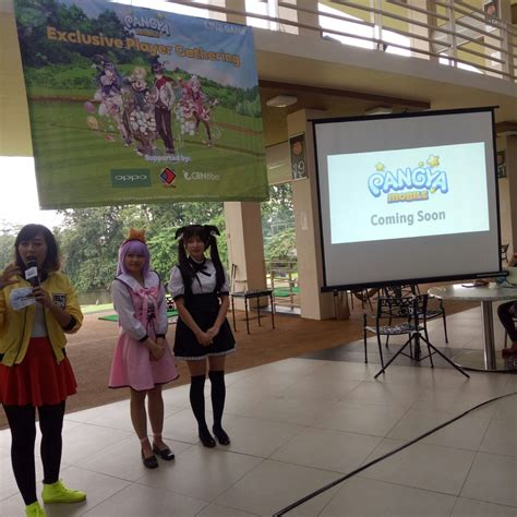 codashop appstore line perkenalkan gamenya di line pangya player gathering
