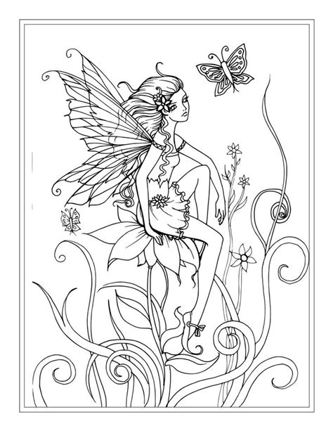 coloring pages for adults fairy 25 best molly harrison free coloring pages direct from