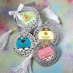 bookmark favors personalized sweet celebrations damask bookmark favors
