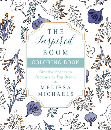 The Room Book by Home Decor Coloring Book The Inspired Room The