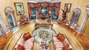 donald trump white house decor cherubs marble and louis xiv what donald trump s oval