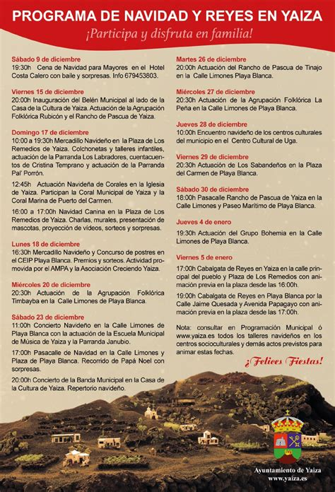 new year programme and new year in yaiza lanzaroteguide